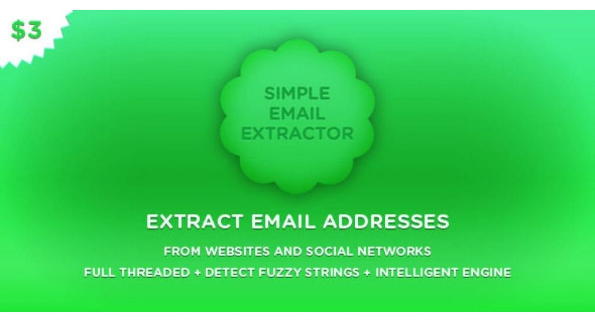 Программа для парсинга Email адресов