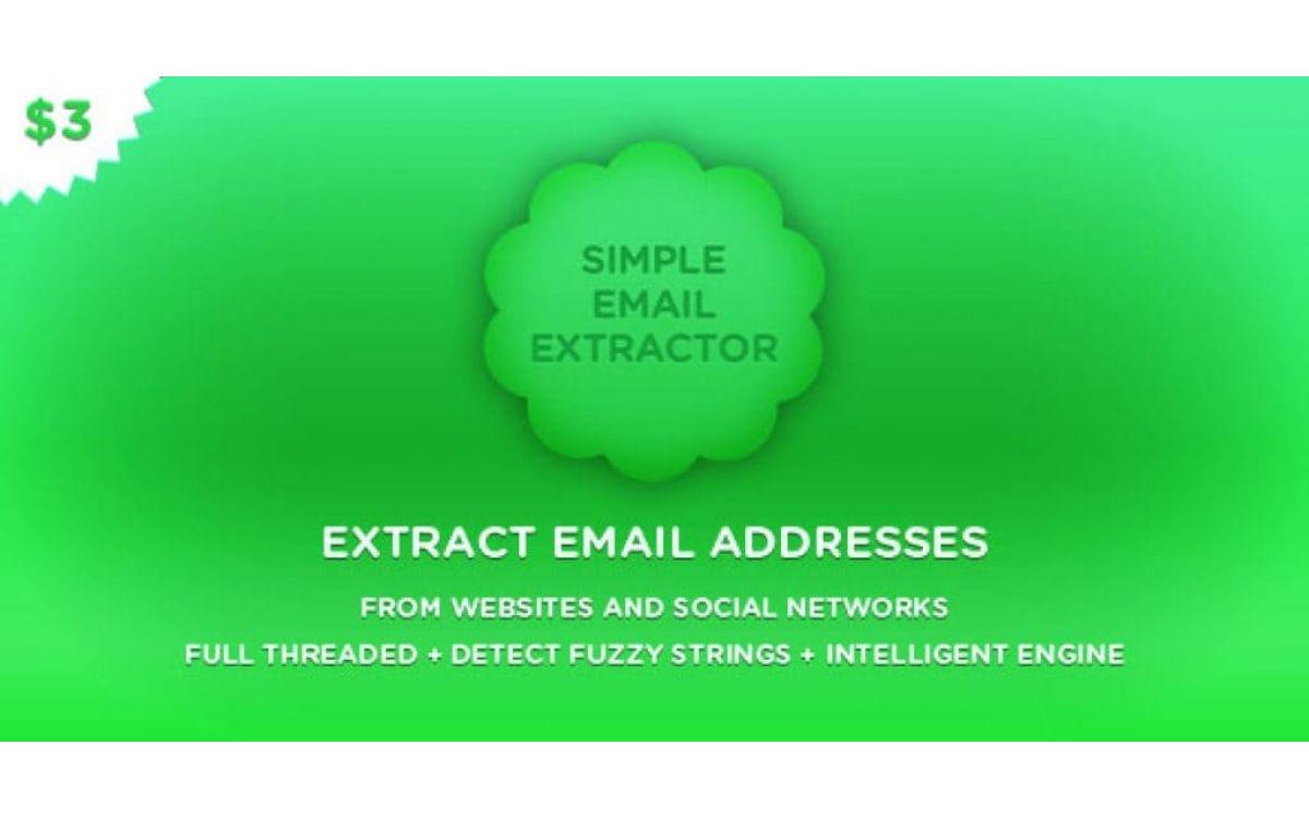 Программа для парсинга Email а..