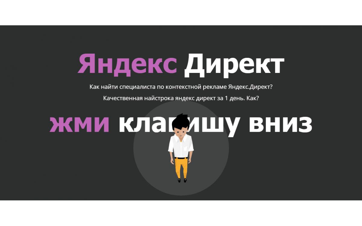 Настройка и реклама в Яндекс Д..